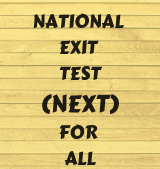 National Exit Test (NEXT)